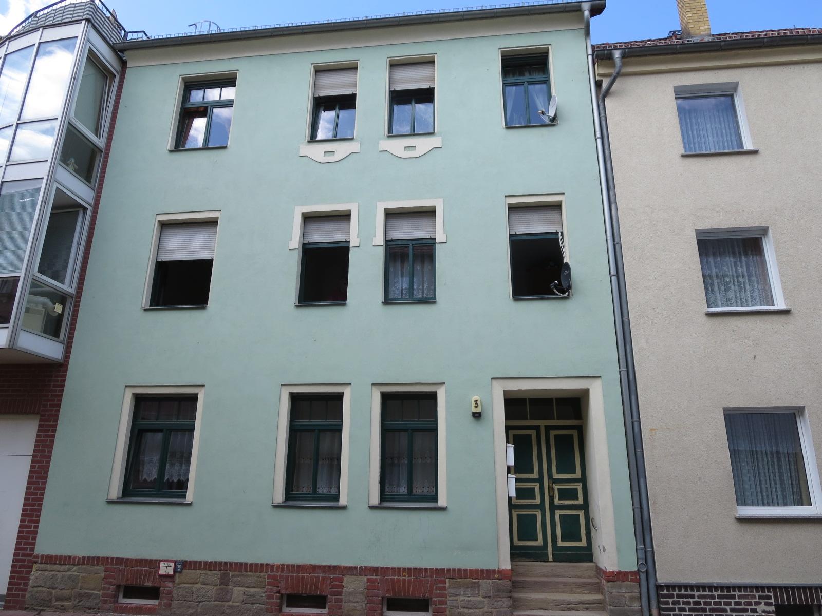 Verkauf eines Mehrfamilienhaus in Groitzsch.