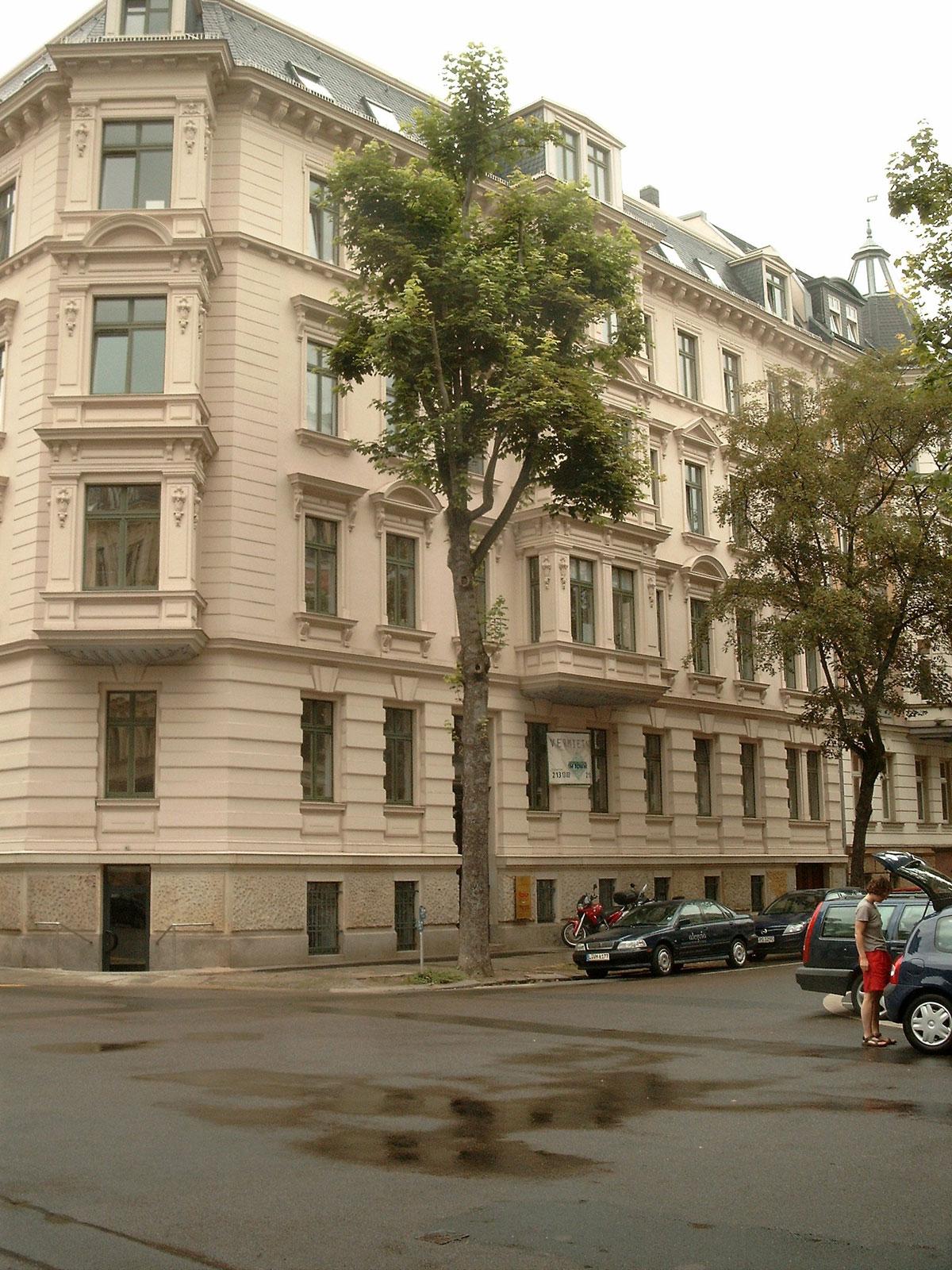 Vermietung 2-3-Zi-Whg Waldstrassenviertel